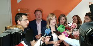 """Carmen Picazo """"Estamos contentos porque hemos logrado entrar con fuerza en las Cortes Regionales"""""""