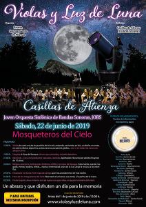 Casillas de Atienza, en la Sierra Norte de Guadalajara, anfitrión de la gala Violas y Luz de Luna