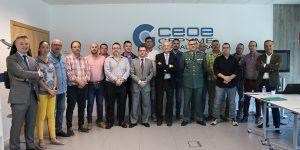 CEOE-Cepyme y la Comandancia de la Guardia Civil de Guadalajara colaboran para formar a los suboficiales en materia de liderazgo