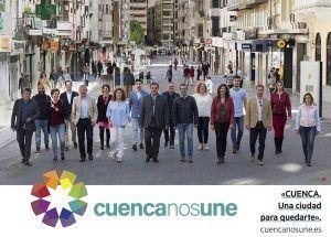 Cuenca nos Une Queremos que los ciudadanos de Cuenca sean protagonistas en la construcción de una ciudad donde todos quieran quedarse