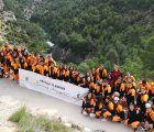 El Programa Somos Deporte 16-18 despidió la temporada con el descenso de barrancos en Villalba de la Sierra