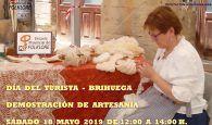 Demostraciones de artesanía de la Escuela de Folklore de la Diputación en Brihuega el próximo sábado 18