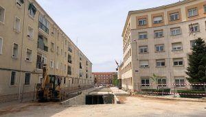 El Ayuntamiento de Cuenca reclama 3,6 millones de euros a la empresa Sogeccon por daños y perjuicios por la paralización de las obras del parking de Astrana Marín