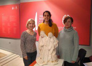 El escultor José Estopiñá dona al Museo de Semana Santa una pieza de Luis Marco Pérez