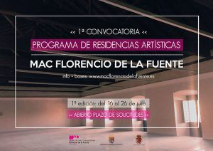 El Museo de Arte Contemporáneo Florencio de la Fuente oferta hasta cuatro becas de 1.000 euros dentro de su programa de residencias artísticas