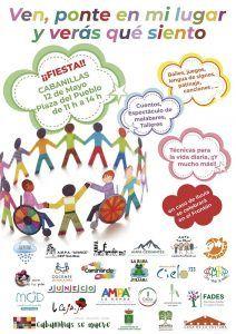 El proyecto Ponte en mi lugar llenará de actividad la Plaza del Pueblo de Cabanillas en una jornada por la inclusión
