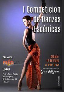 El sábado, 18 de mayo, por la mañana, danzas escénicas en el Buero Vallejo
