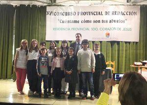 Entregados los premios del XVIII Concurso Provincial de Redacción de la Residencia Sagrado Corazón de Jesús