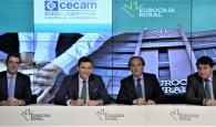 Eurocaja Rural habilita 100 millones a los más de 55.000 socios de CECAM para favorecer el desarrollo de su actividad