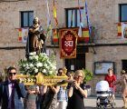 Fuentenovilla celebra el día de San Isidro Labrador en una jornada solemne