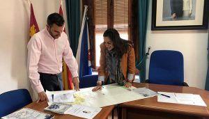 Invierte en Cuenca mantiene un primer contacto con el Ayuntamiento de Horcajo de Santiago
