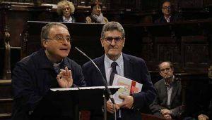 Jesús Orea presenta en el Coro de los Mendoza su libro sobre la Catedral de Sigüenza