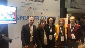 La Gerencia de Cuenca presenta su Programa de Voluntariado con los alumnos de Trabajo Social en el 21 Congreso Nacional de Hospitales