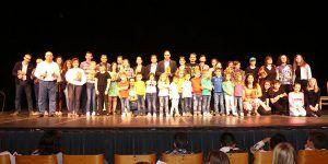 La Muestra de Artes Escénicas ConocerT despide su tercera edición con la participación récord de unos 450 jóvenes
