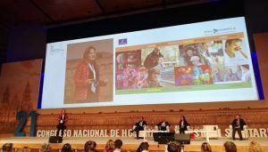 Las acciones de humanización desarrolladas por el Servicio de Salud de Castilla-La Mancha despiertan gran interés en el Congreso Nacional de Hospitales