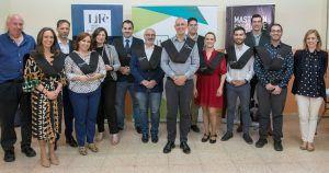 Los alumnos del Máster in Executive English de la Fundación Eurocaja Rural y LIFE en Ciudad Real reciben sus títulos académicos
