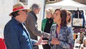 Luz Moya mejorará la movilidad urbana y el aparcamiento en el Casco Antiguo