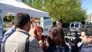 """Mª Ángeles García (Cuenca, En Marcha!) """"Venimos a acabar con los chiringuitos en el Ayuntamiento"""""""