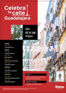 """Mahou Cinco Estrellas """"Celebra tu Calle"""" con numerosas actividades este fin de semana en la Calle Mayor de Guadalajara"""