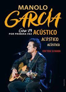 Manolo García llenará este viernes el Buero Vallejo dentro del ciclo Música en Primavera