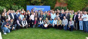 Núñez mantiene un encuentro con los candidatos a las alcaldías de la provincia de Guadalajara