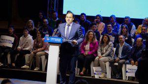 """Núñez pide llenar las urnas de votos del PP porque es la alternativa seria, solvente y sólida que va a dar a """"una región de primera un Gobierno de primera"""""""