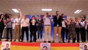 Paco Núñez presenta la candidatura del PP al Ayuntamiento de Galapagos