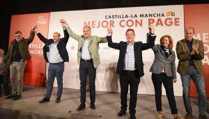 Page pedirá este domingo a Pedro Sánchez enterrar el trasvase Tajo-Segura