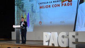 """Page recuerda a Podemos en Guadalajara, este martes 21 de mayo, que él """"no es el enemigo"""" sino Cospedal"""