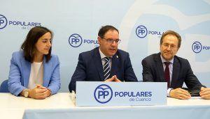 """Prieto """"El Gobierno de Page ha pasado sin pena ni gloria por la provincia de Cuenca"""""""