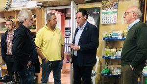 Prieto aboga por la mejora de infraestructuras viarias como medio para vertebrar la provincia