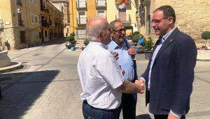 """Prieto afirma que """"el contacto permanente con la calle y con nuestros vecinos está en el ADN del Partido Popular"""""""