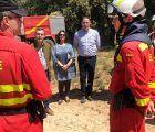 Prieto agradece a la Unidad Militar de Emergencias que haya vuelto a elegir Cuenca para sus maniobras