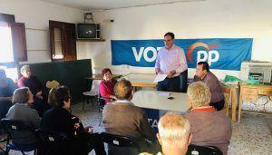 """Prieto destaca las inversiones y cercanía de la Diputación de Cuenca con todos los municipios, """"nosotros lo demostramos con hechos"""""""