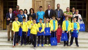Prieto felicita a la Escuela Municipal de Fútbol FutbCuenca por los éxitos de este año en fútbol sala y fútbol 8 benjamín