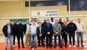 Prieto felicita al Basket Globalcaja Quintanar por su temporada y le garantiza la continuidad de su convenio con Diputación