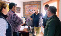 """Prieto revindica las empresas y el pequeño comercio de Motilla como """"esencial en la dinamización económica del municipio"""""""