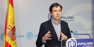 Robisco denuncia la hipocresía de Page, que dice ahora que rechaza los indultos, cuando votó en contra de prohibirlos, tal y como pidió el PP en las Cortes regionales