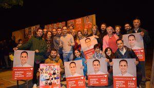 """Salinas arranca su campaña en positivo """"Vamos a responder a cada descalificación con una sonrisa"""""""