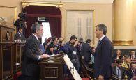 Silvia Valmaña y Antonio Román juran como diputada y senador en representación de la provincia de Guadalajara