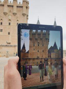 Telefónica presenta en Segovia una nueva forma de hacer turismo basada en 5G y tecnologías de realidad aumentada y mixta