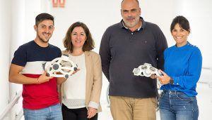Un 'neurocasco' ideado en el Hospital de Parapléjicos permite simplificar la estimulación cerebral para tratar enfermedades neurológicas