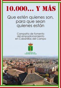 Un vídeo promocional refuerza la campaña #SomosCabanillas, de fomento del empadronamiento