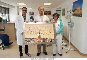 Una obra elaborada por los profesores y por niños ingresados en el hospital de Guadalajara decorará el Hospital de Día Onco-Hematológico