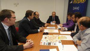 UNICO y CEOE-Cepyme Cuenca solicitan al alcalde de El Provencio información sobre parcelas para instalar empresas