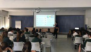 Voluntarios de Telefónica Castilla-La Mancha llevan la ciberseguridad a los colegios de la región