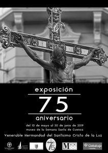 Ya se puede visitar en el Museo de Semana Santa la exposición por el 75º Aniversario del Cristo de la Luz