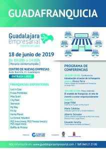 Arranca la I Edición de Guadafranquicia el próximo 18 de junio