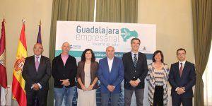 """Diputación, Ayuntamiento y CEOE-Cepyme Guadalajara renuevan el proyecto """"Guadalajara Empresarial"""""""
