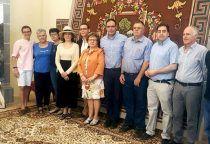 Diputación de Cuenca entrega al pueblo de Cañaveras la alfombra de la Virgen del Pinar una vez restaurada